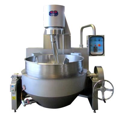 油壓升降式加熱攪拌機