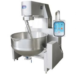 Hydraulic Lifting Standard Heated Cooking Mixer